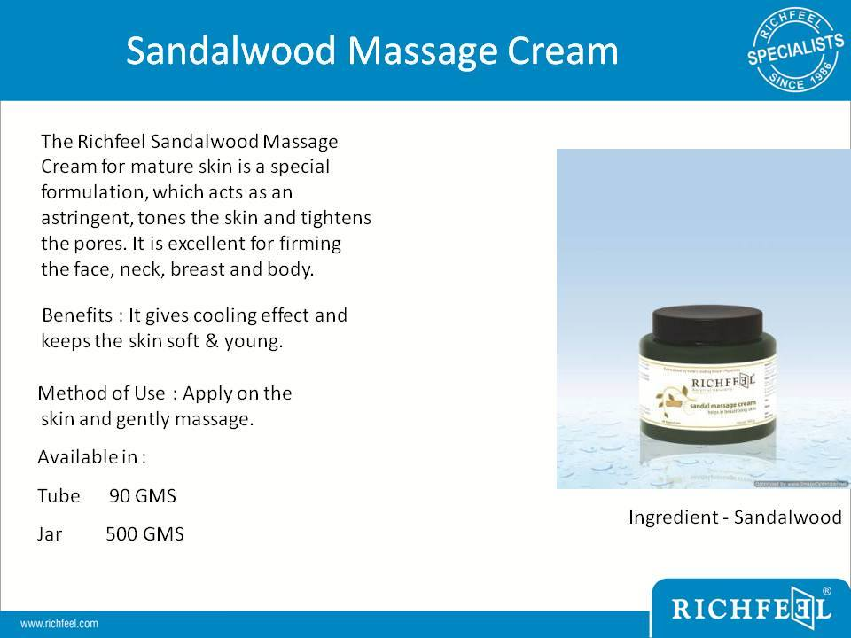 Sandal-massage-cream in Siliguri