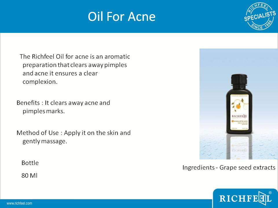 0 - Oil For Acne