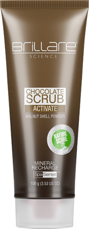 0 - Activate Chocolate Scrub Signle Layer